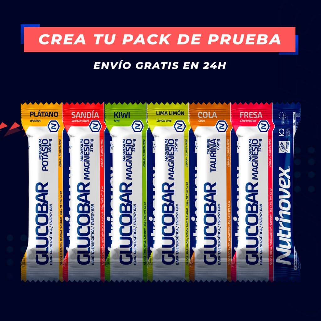 Barritas energéticas pack de prueba